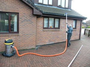 gutters cleaned professionally in livingston