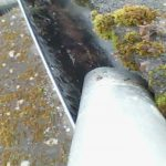 gutter getting cleaned livingston west lothian
